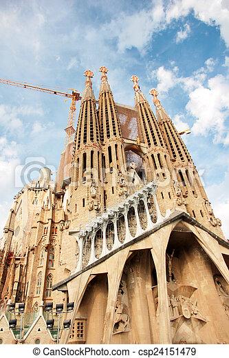 Sagrada Familia - csp24151479