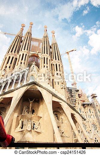 Sagrada Familia - csp24151426