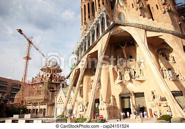 Sagrada Familia - csp24151524
