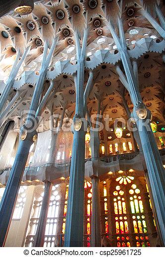 Sagrada Familia - csp25961725