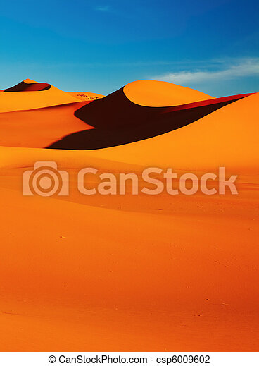 Sahara Desert - csp6009602