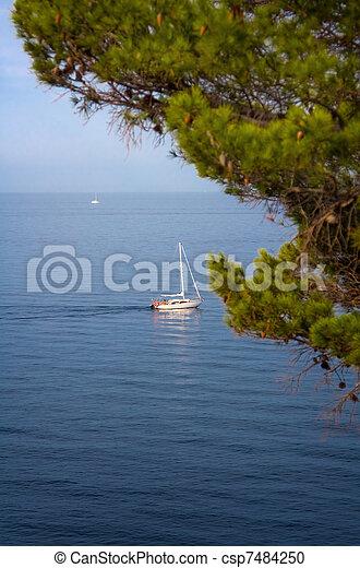 Sail boat - csp7484250