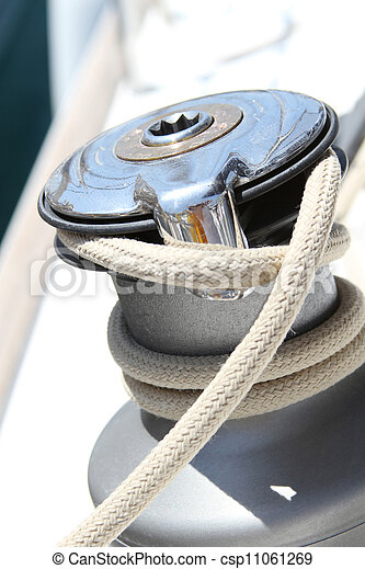 Sail Boat Winch - csp11061269