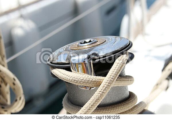 Sail Boat Winch - csp11061235