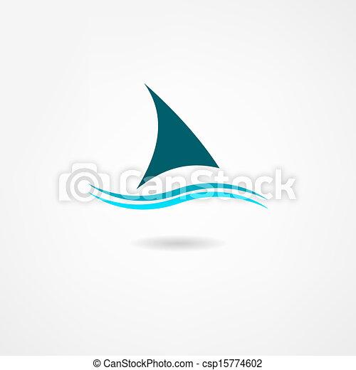 sail icon - csp15774602