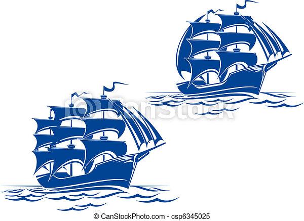 Sail ship - csp6345025