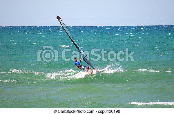 sail surf dude