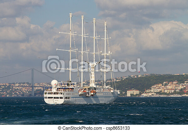 sailboat - csp8653133