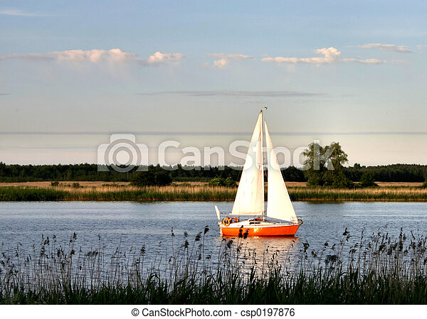 sailboat - csp0197876