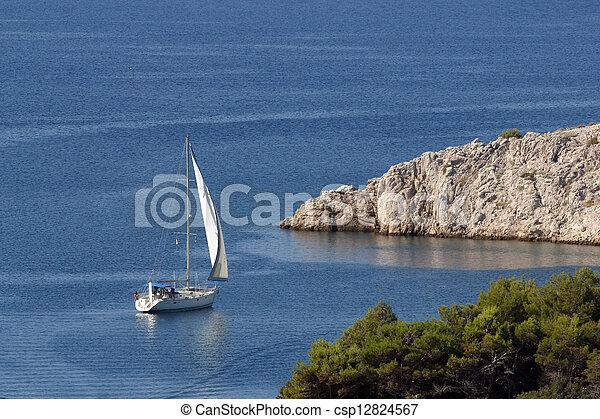 sailboat - csp12824567