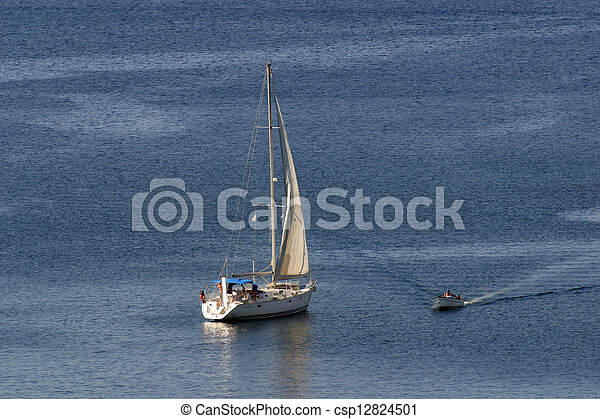 sailboat - csp12824501