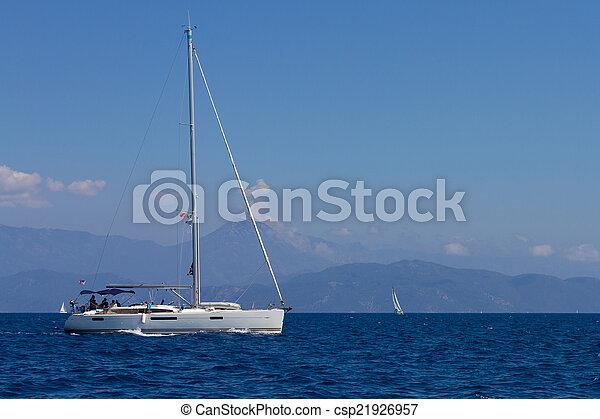 sailboat - csp21926957