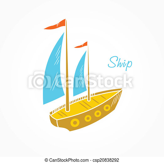 Sailboat  - csp20838292