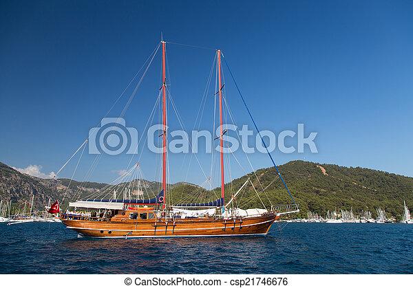sailboat - csp21746676