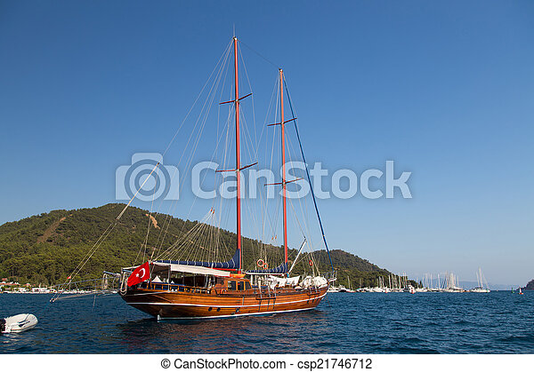 sailboat - csp21746712