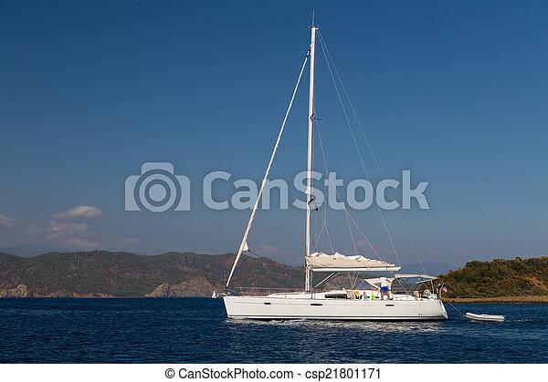 sailboat - csp21801171