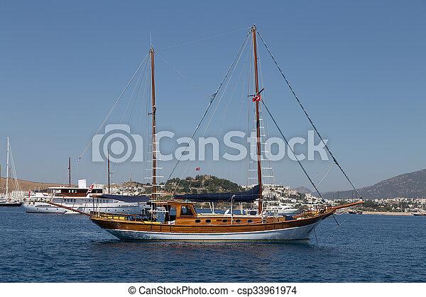 sailboat - csp33961974