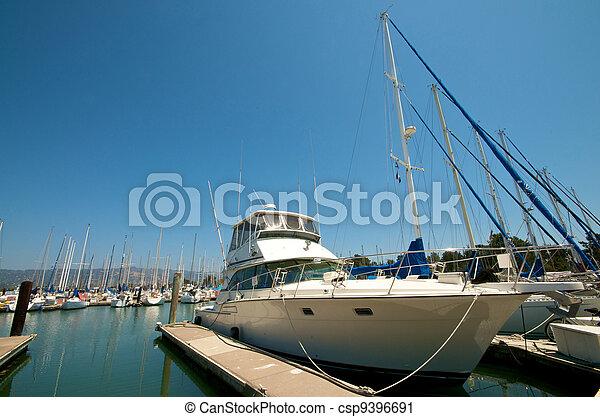 Sailboats at the waterfront - csp9396691