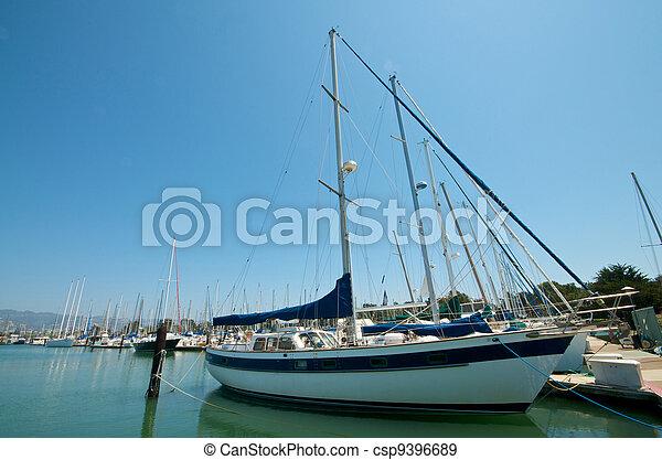 Sailboats at the waterfront - csp9396689