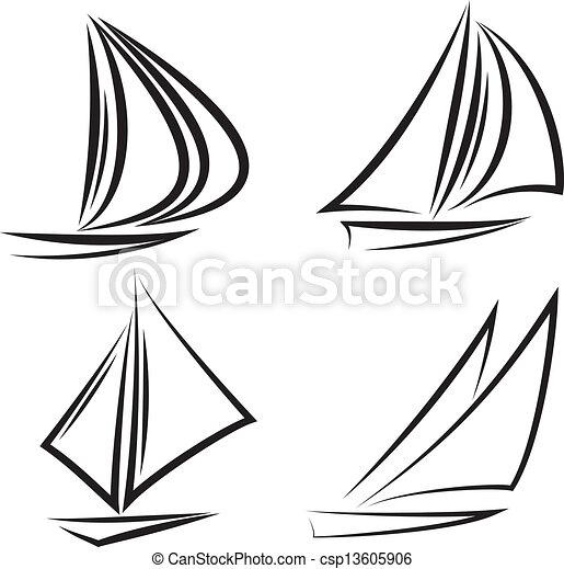 Sailboats - csp13605906