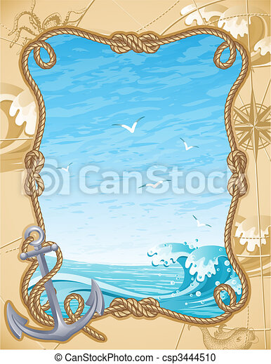sailing background - csp3444510