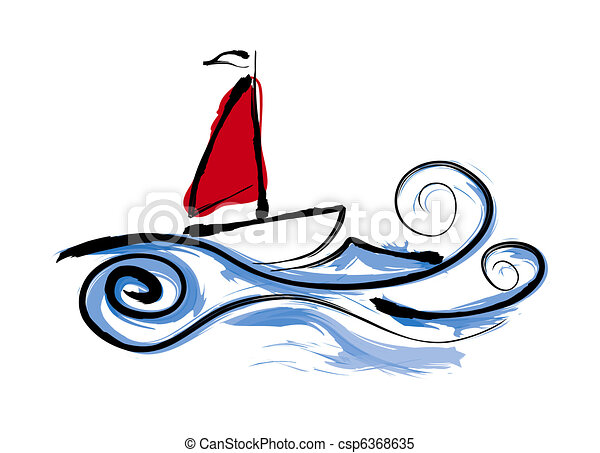 sailing boat illustration stock illustrations search clipart rh canstockphoto com selling clip art sailing black and white clipart