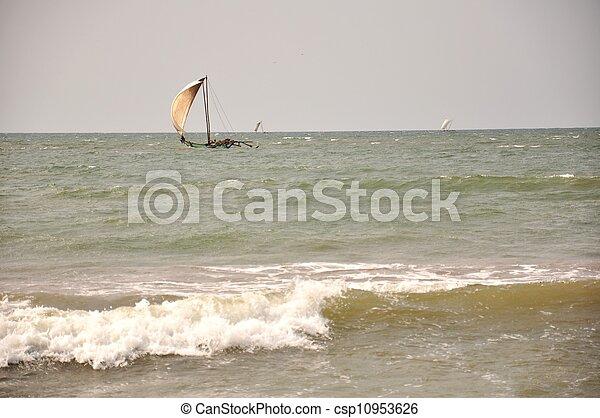 sailing boat - csp10953626