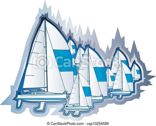 Sailing boats - csp10254589
