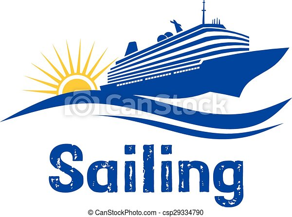 Sailing Cruise Logo - csp29334790
