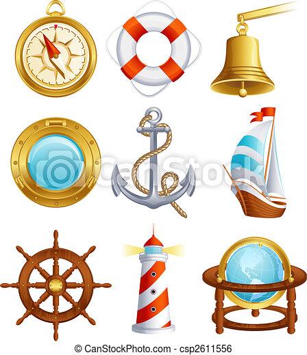Sailing icon - csp2611556