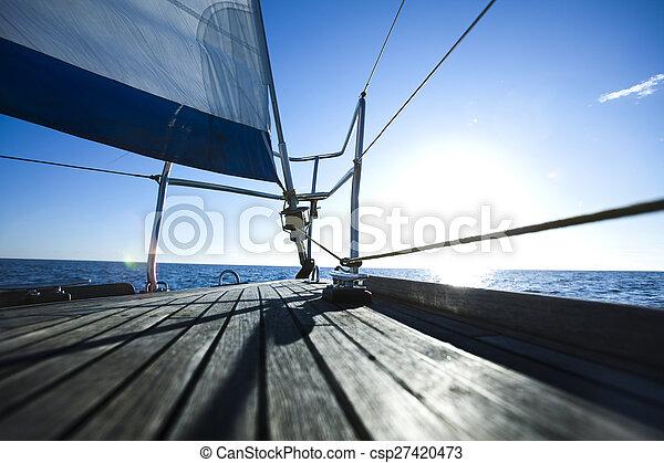 Sailing on the Baltic Sea - csp27420473