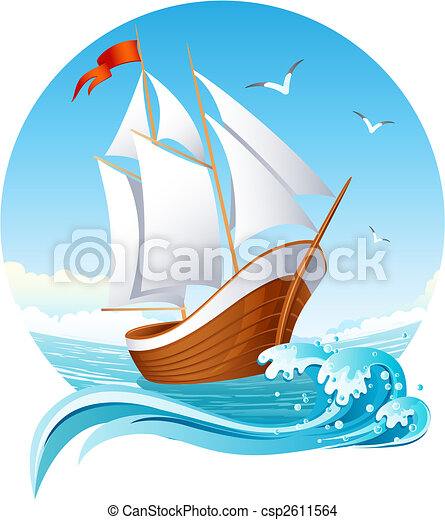 sailing ship - csp2611564