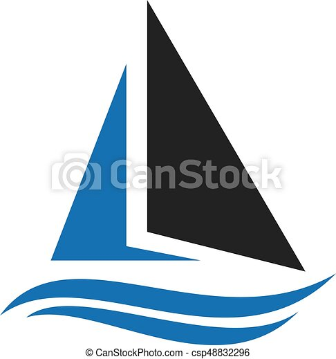 sailing ship logo design yacht logo logo for a travel eps rh canstockphoto com yacht clipart images yacht clipart black and white