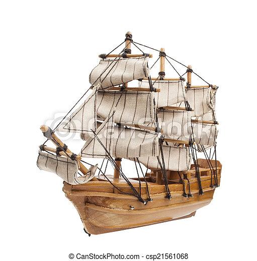 Sailing ship model - csp21561068