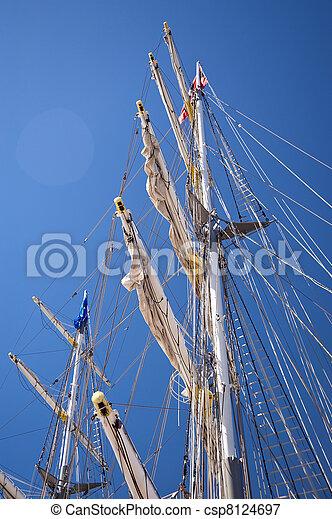 Sailing ship - csp8124697