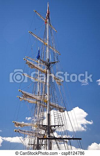 Sailing ship - csp8124786