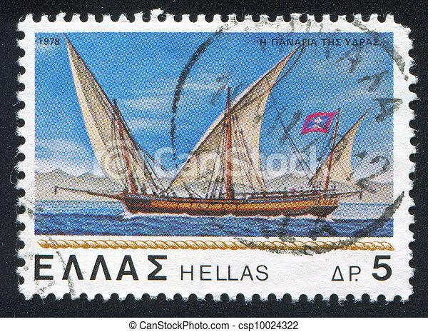 sailing ship - csp10024322