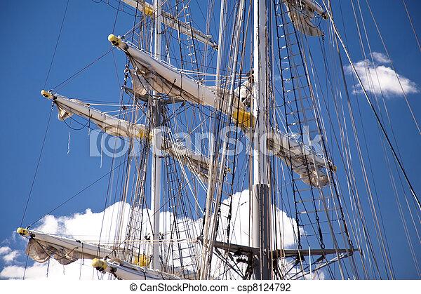Sailing ship - csp8124792