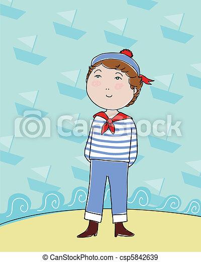 sailor boy - csp5842639