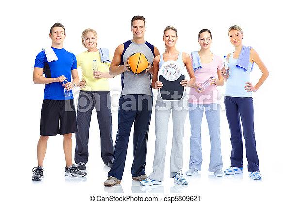 sain, fitness, gymnase, style de vie - csp5809621
