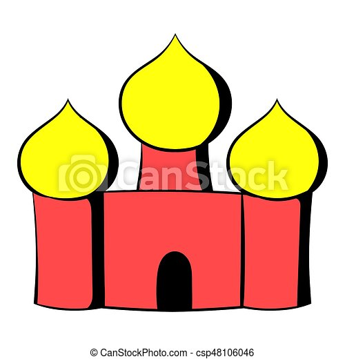 saint basils cathedral moscow russia icon cartoon saint drawing rh canstockphoto com santa clip art borders santa clip art images