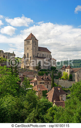 Saint-cirq-Lapopie - csp16193115