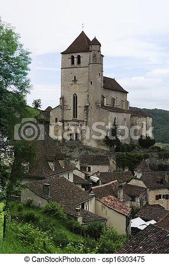 Saint-cirq-Lapopie - csp16303475