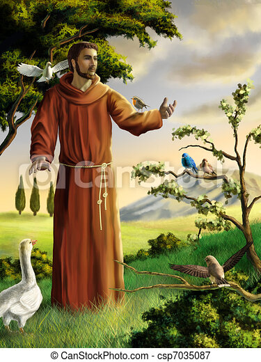 Saint Francis - csp7035087