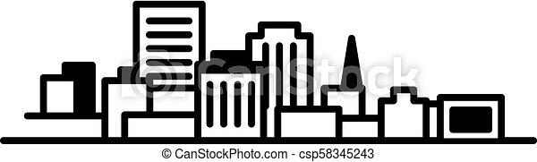 Saint John Downtown - csp58345243