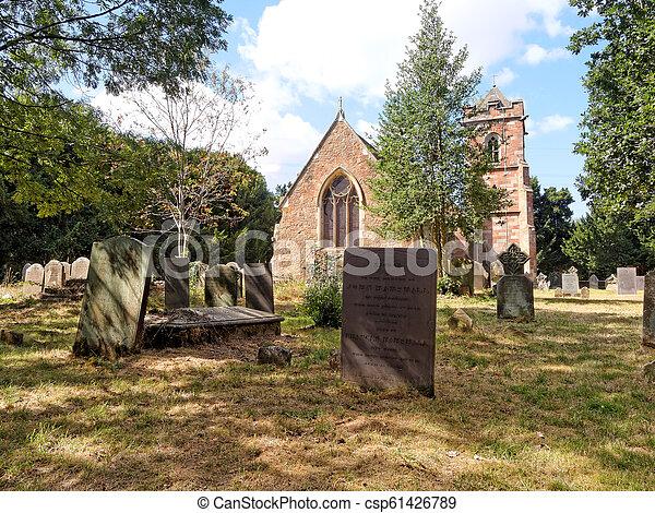 Saint John the Baptist Church, UK - csp61426789