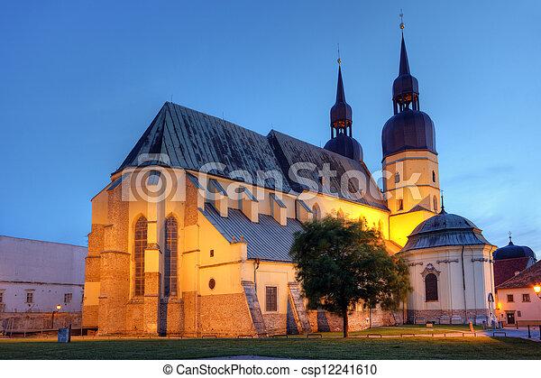 Saint Nicolas church in Trnava, Slovakia - Eastern Europe - csp12241610