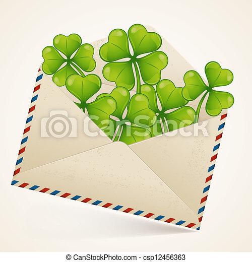 Saint Patrick's Day background. - csp12456363