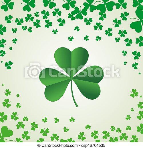 Saint Patrick's Day Background - csp46704535