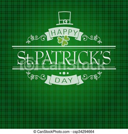 Saint Patricks Day - csp34294664